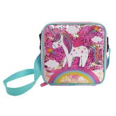 Glitter Confetti Unicorn Lunch Bag