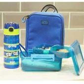Clic-Tite Layered Lunch Box 1.1L Blue 1