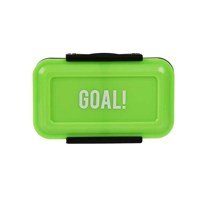 Football Goal 430ml Split Snack Box