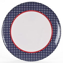 "Polar Gear Alfresco Britannia 11"" Plate"