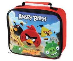 Angry Birds Square Lunch Bag
