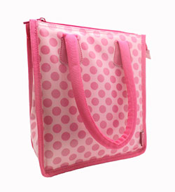 Pink Lunch Tote Bag