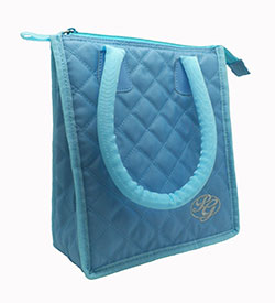 Quilted Lunch Tote Bag