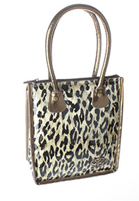 Tote Lunch Cooler Leopard Print